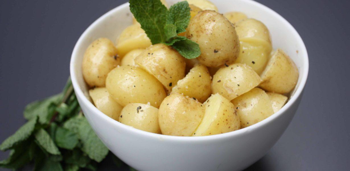 A Basic Cook Boiled Potatoes